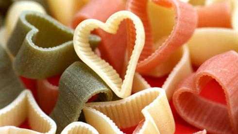 "Alt=""Heart Shaped Pasta"""
