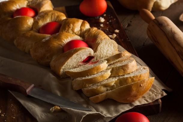 """Alt=""""vorrei italian easter bread"""""""