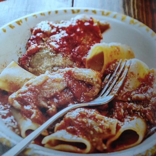 Vorrei Italian paccheri parmigiana