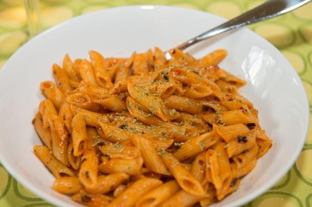 "Alt=""vorrei italian pasta all'arrabbiata"""