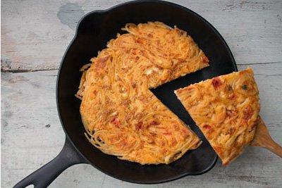 """Alt=""""vorrei italian pasta omelette"""""""