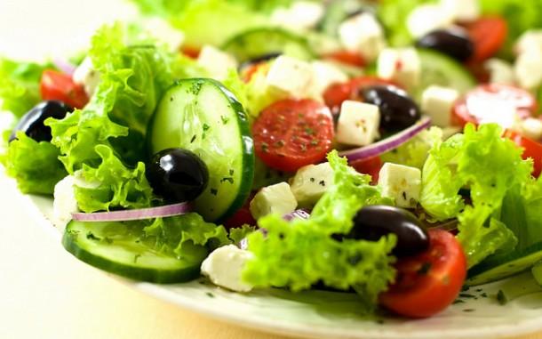 mediterranean diet - italian salad
