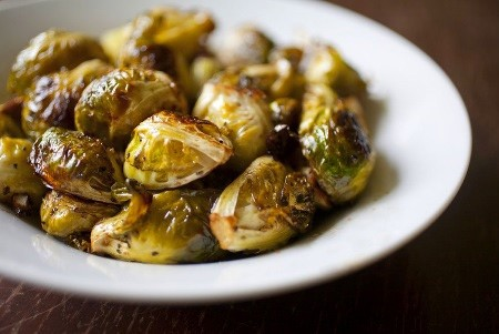 "Alt=""vorrei italian Brussel sprouts and balsamic vinegar"""