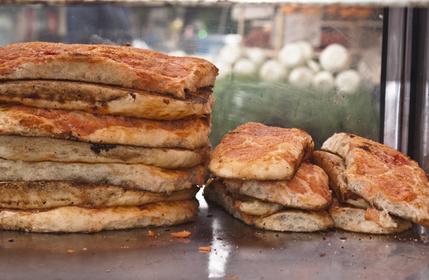 "Alt=""italian street food - sfincione"""