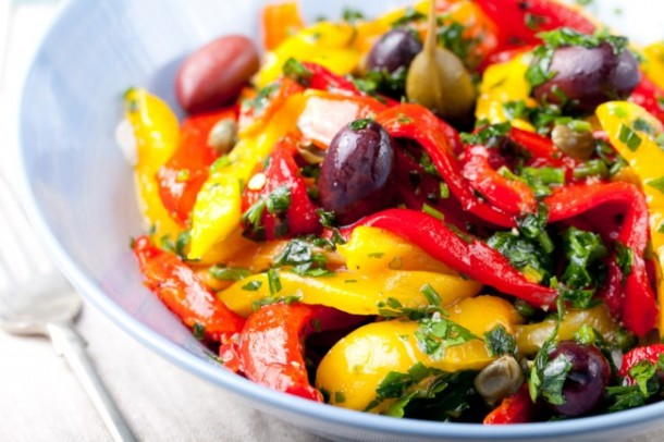"Alt=""vorrei italian pepper and caper salad"""