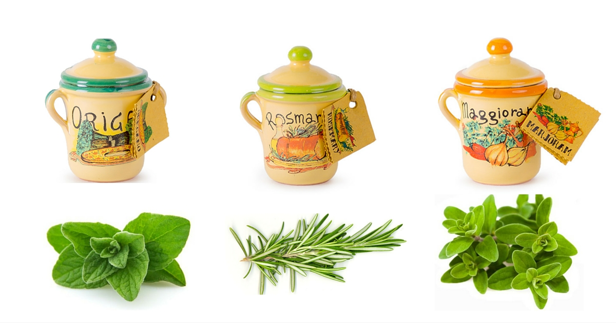 Dried italian herbs a quick guide vorrei italian food blog - Aromatic herbs pots multiple benefits ...