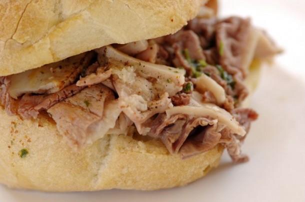 "Alt='vorrei italian lampredotto street food sandwich"""