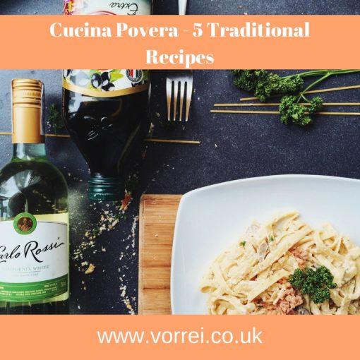 Cucina Povera - 5 Traditional Recipes