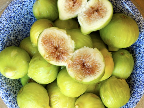 "Alt=""vorrei italian calabrian food fresh figs with gorgonzola"""