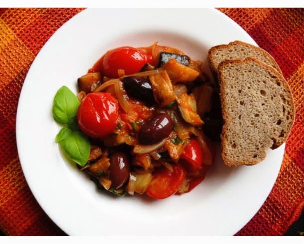 christmas recipes caponata