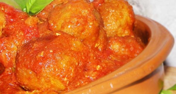 meatball with nduja