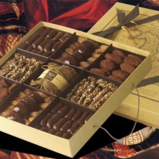 Vorrei italian bpx of assorted fig chocolates