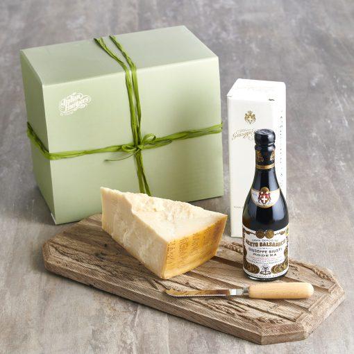 Balsamic vinegar and parmesan hamper