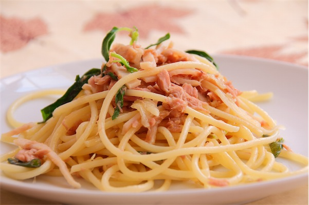 "Alt=""vorrei italian spaghetti with tuna and lemon"""