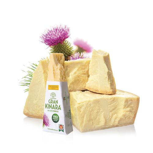 Pieces of Gran Kinara Vegetarian Cheese